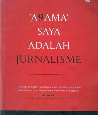 A9ama Saya Adalah Jurnalisme