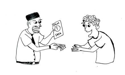 PRAKTIK POLITIK UANG DI INDONESIA